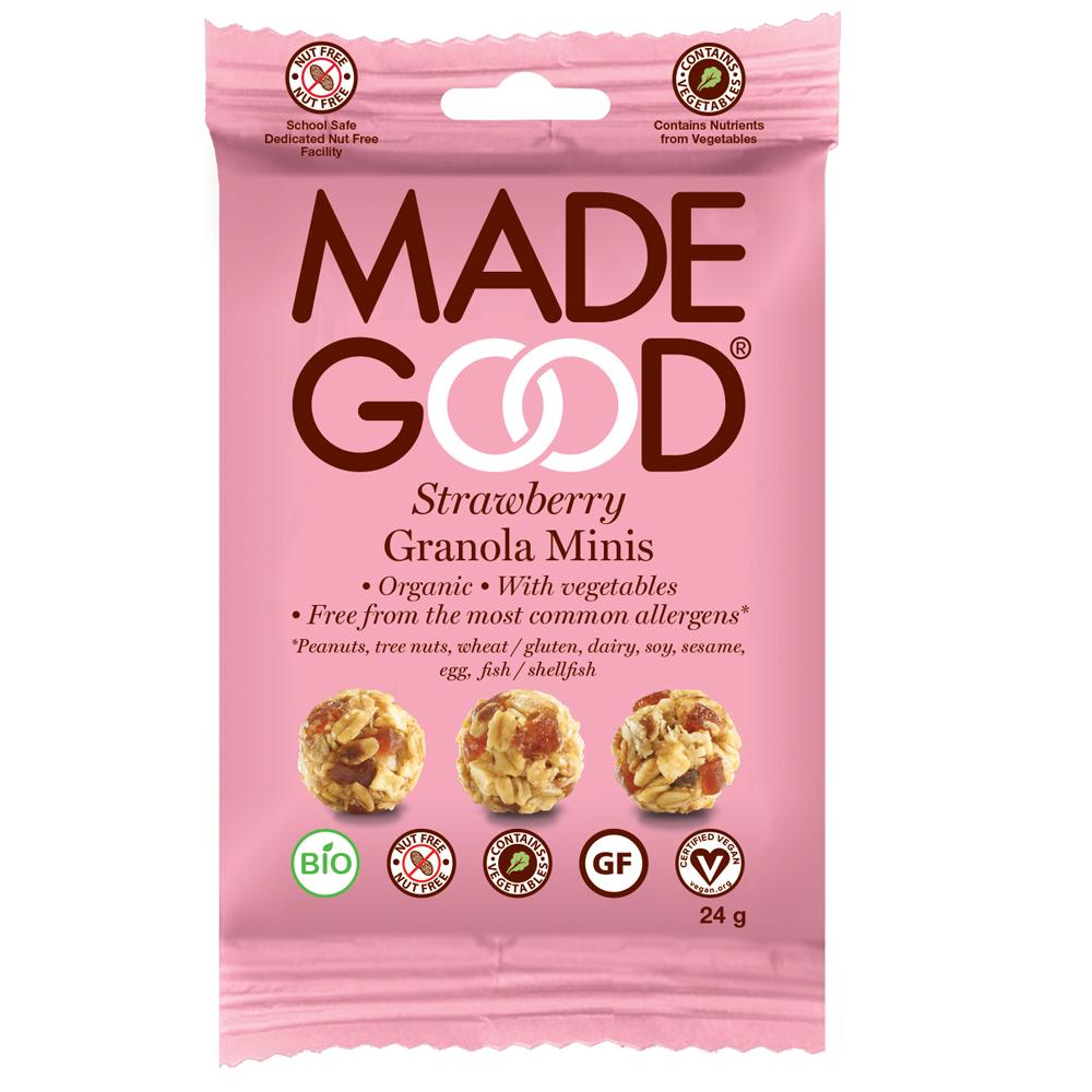 MGIN-Granola Minis-Strawberry-24gPillow